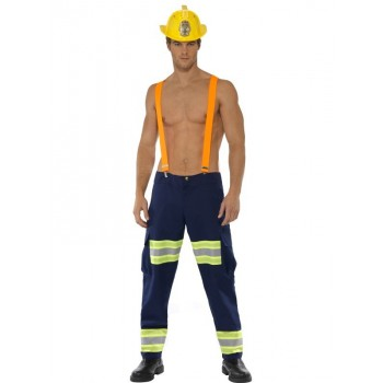 Costume pompier sexy homme