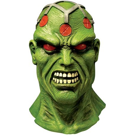 Masque latex brainiac superman pas cher - Masque superman ...