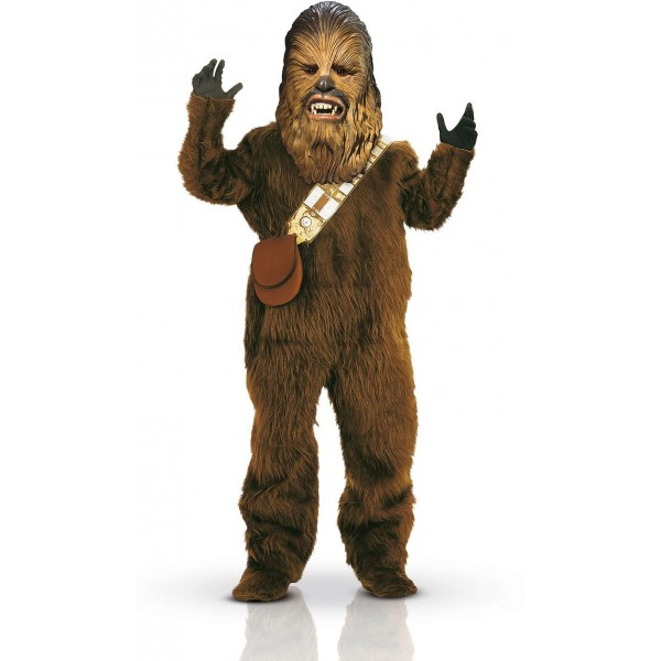 costume deguisement chewbacca star wars adulte luxe. Black Bedroom Furniture Sets. Home Design Ideas