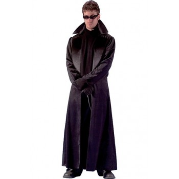 Veste longue Neo Matrix adulte