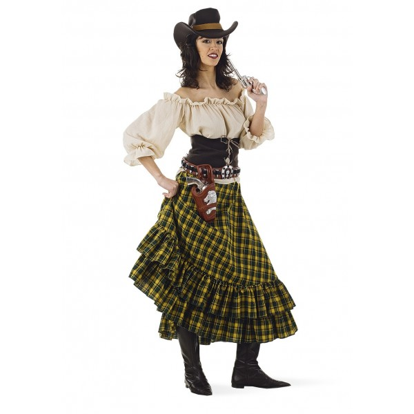 Cow Déguisement Girl Femme Western Luxe WHIYE29D