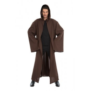 Cape marron de Jedi adulte...