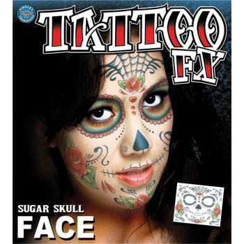 Tatouage facial Day of the...