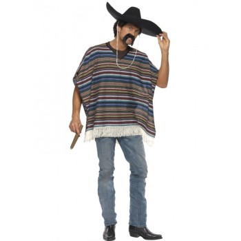 Poncho Mexicain authentique...