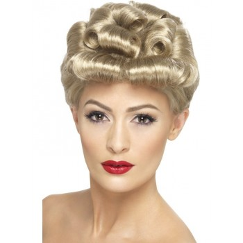Perruque glamour blonde...