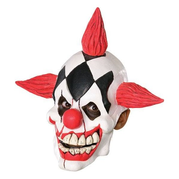 achat masque souple clown d mon latex halloween pas cher. Black Bedroom Furniture Sets. Home Design Ideas