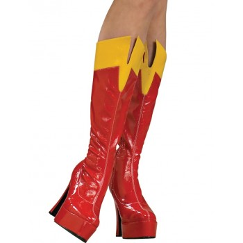 Bottes Supergirl femme Luxe