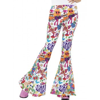 Pantalon peace and love  femme