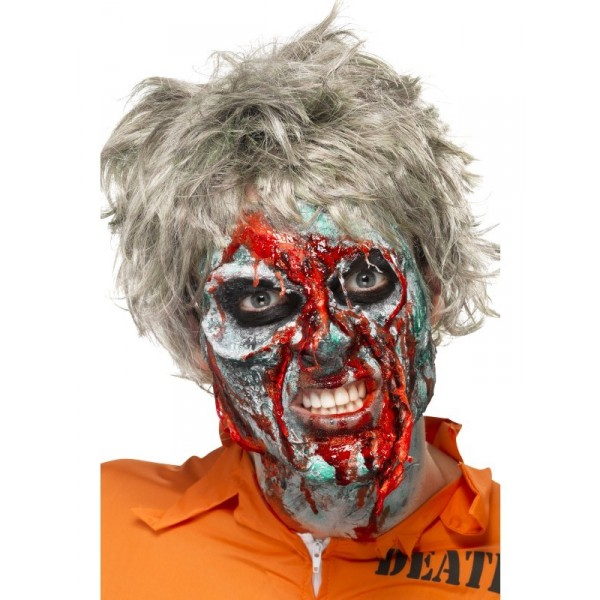 Kit maquillage latex zombie qualit halloween - Maquillage halloween latex ...