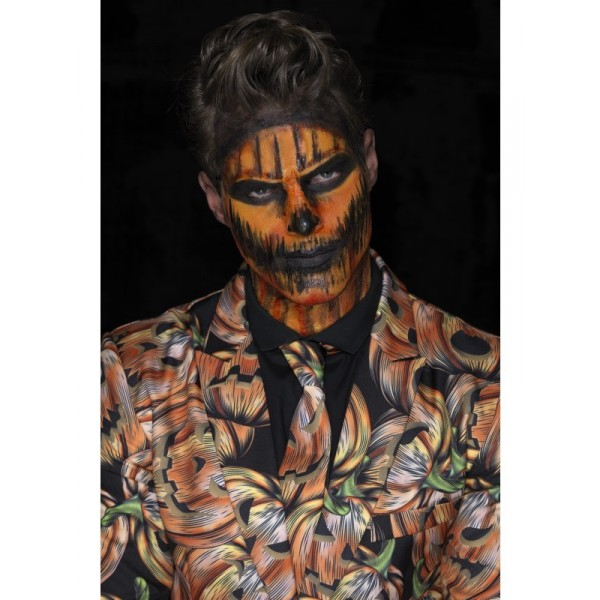 Kit maquillage latex citrouille halloween - Maquillage halloween citrouille ...