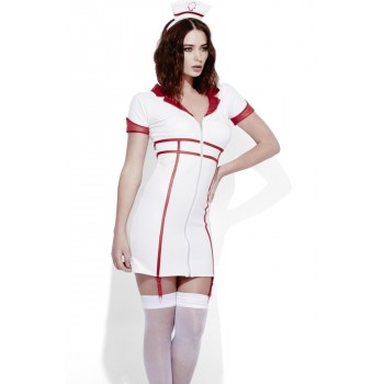 Déguisement Miss Nurse sexy Luxe