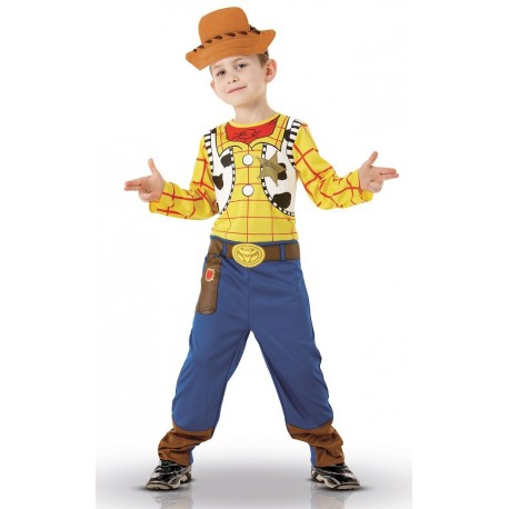 Revised New m/&s Woody Toy Story Enfants Déguisements Costumes Tailles 7//8 et 5//6