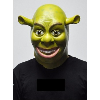 Masque de Shrek adulte Luxe