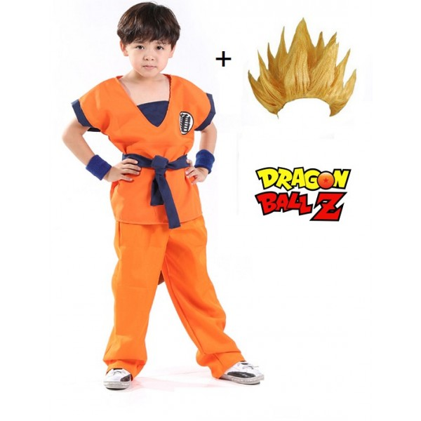 d guisement sangoku dragon ball z enfant complet. Black Bedroom Furniture Sets. Home Design Ideas