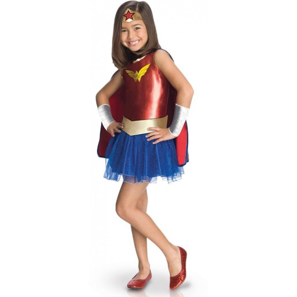 Déguisement Wonder Woman Comics fille