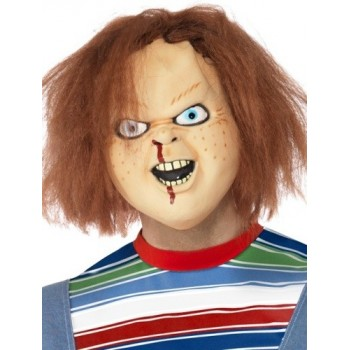 Masque poupée Chucky latex...