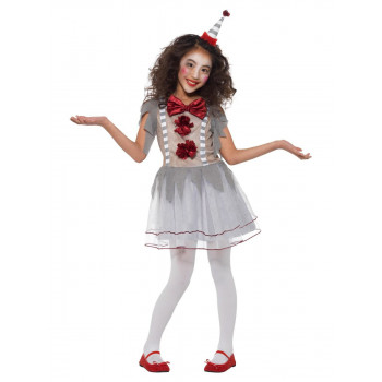 COSTUME FILLE CLOWN VINTAGE...
