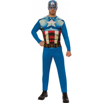 Déguisement Captain America adulte