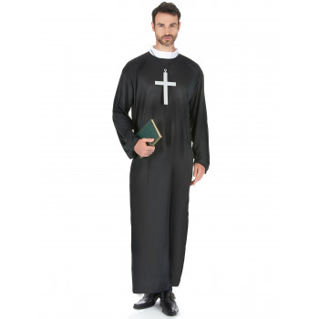 Costume adulte curé