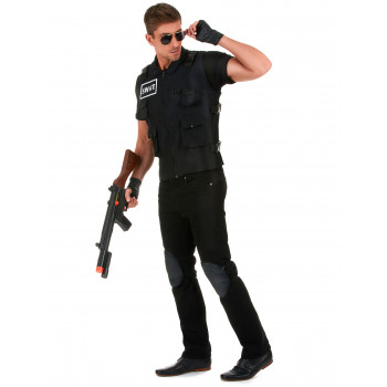 Uniforme agent SWAT adulte...