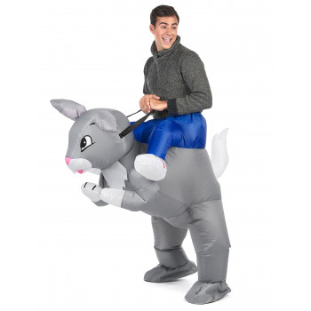 Costume gonflable lapin...