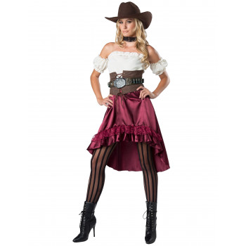 Costume western pour femme