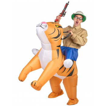 Costume tigre gonflable...
