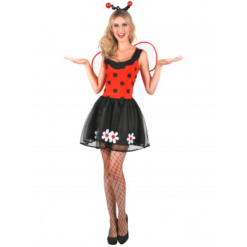 Costume coccinelle femme sexy