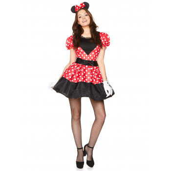 Costume Minnie adulte avec...
