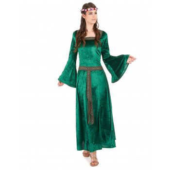 Costume robe médiévale adulte