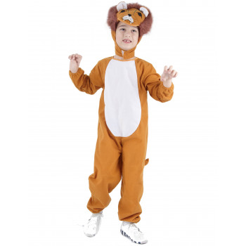 Costume lion enfant mixte...