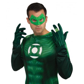 Gants Green Lantern adulte