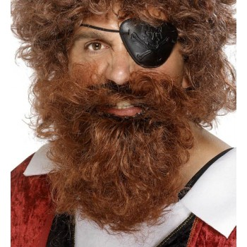 Barbe de pirate - Coloris...