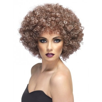 Perruque afro chic femme