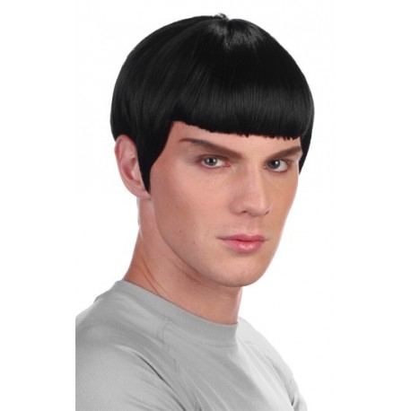 perruque spock star trek. Black Bedroom Furniture Sets. Home Design Ideas