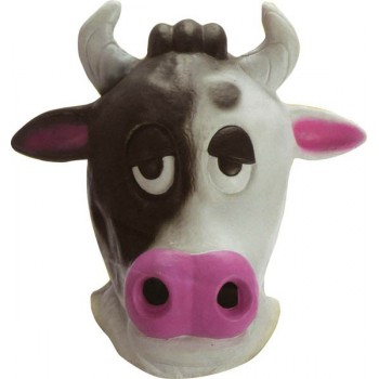 Masque vache en latex