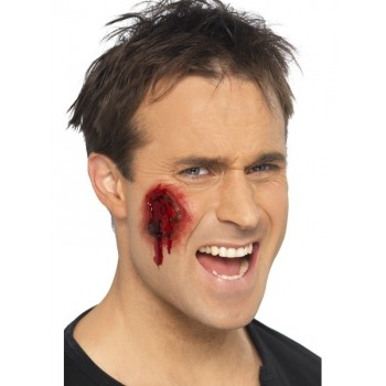 Cicatrices mutilations accessoire maquillage halloween - Maquillage halloween cicatrice ...
