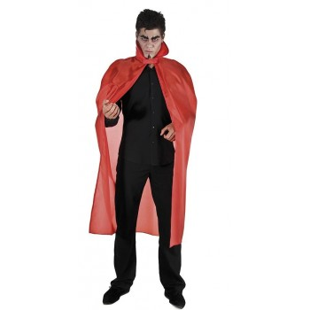 Cape rouge halloween 127cm...