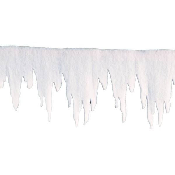 D coration noel frise de glace for Glace murale decorative