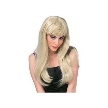 Perruque glamour blonde femme